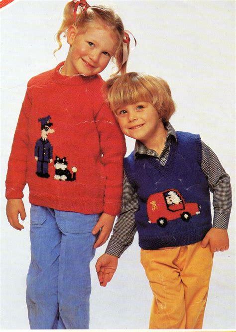 Baby Jumper Chelsea Home 19 baby toddler childrens postman pat sweater slipover knitting pattern 20 28 inch dk light
