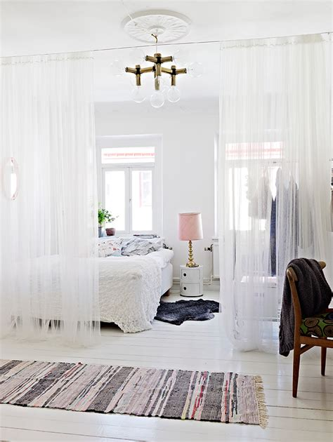 bedroom divider curtains how to create dreamy bedrooms using bed curtains