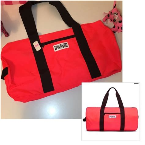 pink s secret new pink vs duffle bag neon from