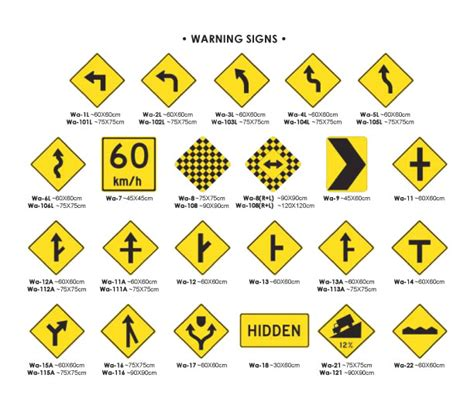 what color are warning signs traffic signs caution signs warning sings multicolorsigns