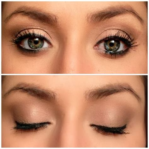makeup tutorial natural look for green eyes makeup for green eyes beauty pinterest