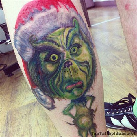 grinch tattoo designs grinch idea ideas