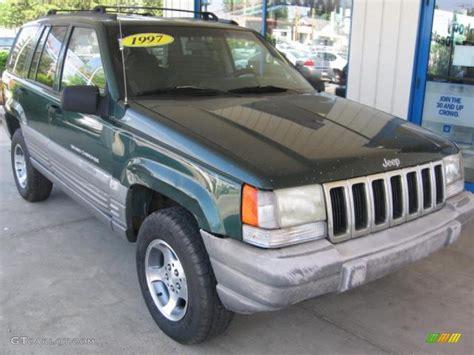 1997 forest green pearl jeep grand laredo 4x4 72246790 gtcarlot car color