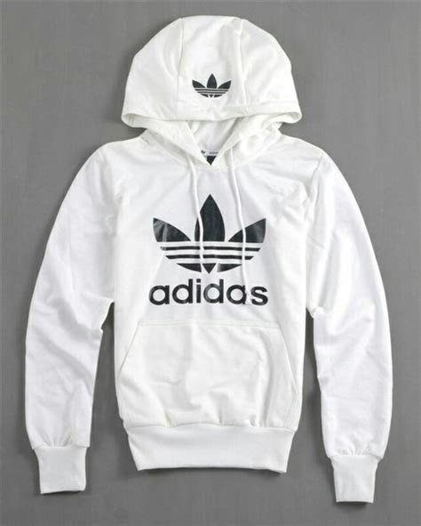 Sweater White Original sweater adidas hoodie adidas originals white