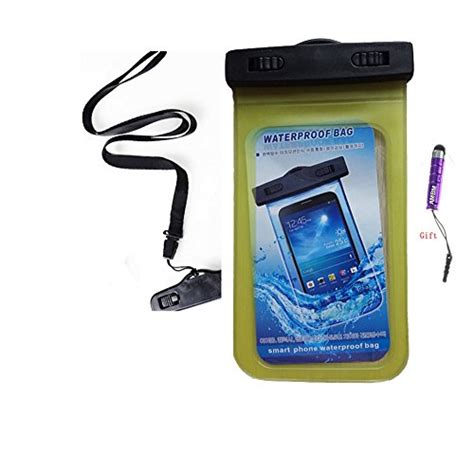 Waterproof Bag For Iphone Smartphone Up To 5 7 Inch Yf200 110 Black g cord tm universal waterproof pouch bag for
