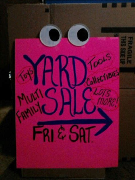 25 best ideas about yard sale signs on sale