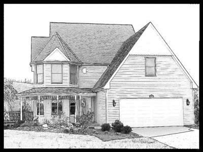 photos drawings of houses drawing art gallery pricing for custom house portraits gift of portraits
