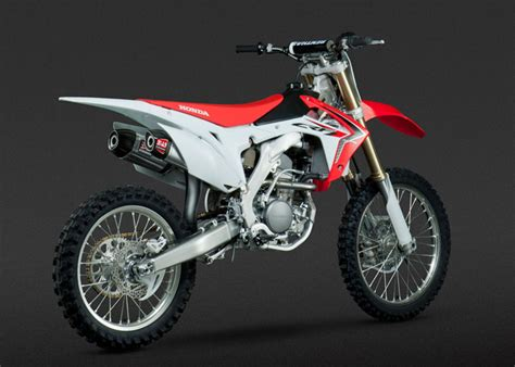 yoshimura crf250r 2014 16 rs 9 dual stainless exhaust