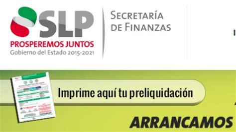 finanzas slp 2016 finanzas san luis potosi 2016 secretario de finanzas san