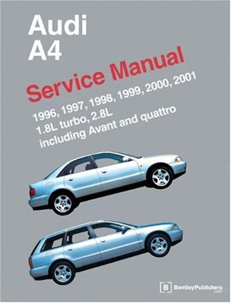 motor repair manual 2011 audi a4 security system audi a4 service manual 1996 2001 pdfsr com