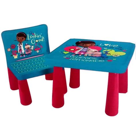 Doc Mcstuffins Table And Chair Set by Disney Sit And Colour Drawing Colouring Desk Table