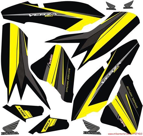 Sticker Stiker Spakbor Fender Yamaha Byson Vixion Nmax Xmax Aerox striping motor honda verza tech3 stikermotor net stikermotor net