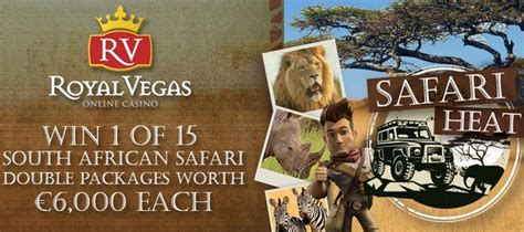 Win Money South Africa - win a trip to south african safari and 300 000 cash prize at royalvegas casino