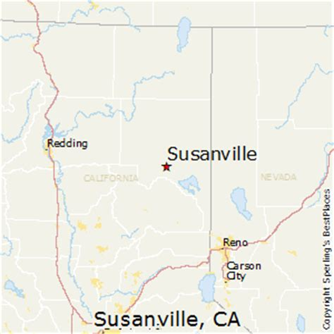 where is susanville california on the map best places to live in susanville california