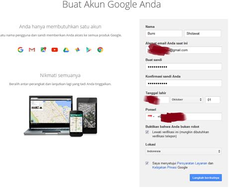 buat akun google adsense cara daftar akun google adsense terbaru bumisholawat