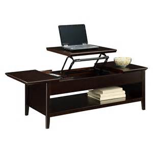 Lift Top Coffee Table Altra Lift Top Coffee Table Espresso At Hayneedle