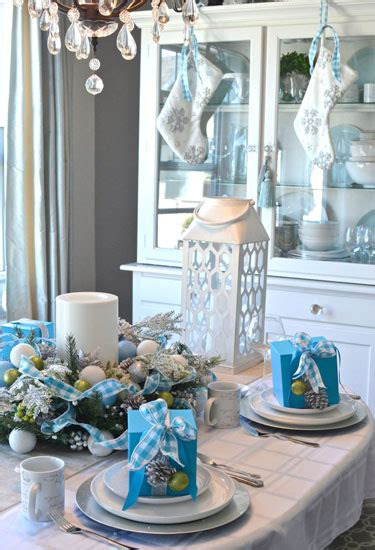 winter decorations winter table ideas more how to impressive and beautiful christmas table settings