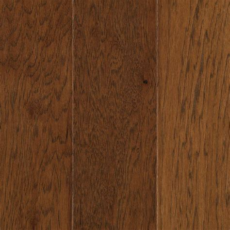 Mohawk Engineered Hardwood Flooring Mohawk Pristine Hickory Suede Engineered Hardwood Flooring 5 In X 7 In Take Home Sle Un