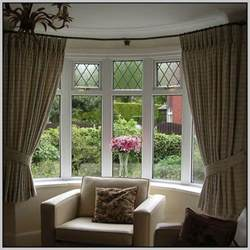 Curtain rails for bay windows curtains home design