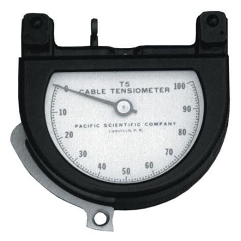 Service Tensimeter cable tensiometer calibration