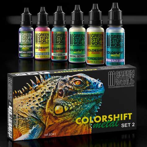 color shift colorshift chameleon paint set