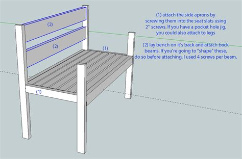 plans for a bench seat download garden bench seat plan plans free