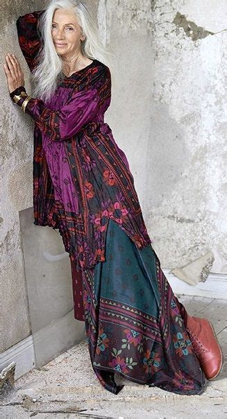 bohemian look on older women gudrun sj 246 d 233 n fcl lagenlook pinterest boho style