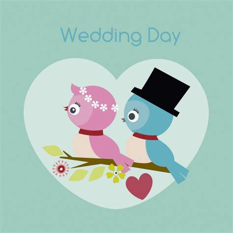 Of Wedding Day by On Your Wedding Day Card Lovebirds