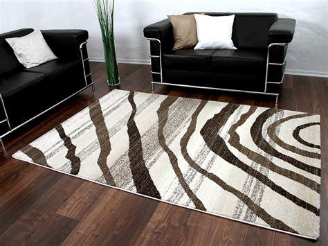 teppich reduziert designer teppich gabbeh braun wellen abverkauf stark