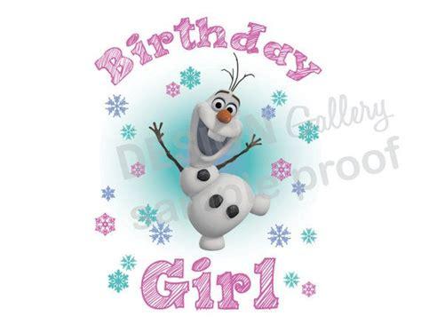 Happy 3rd Birthday Quotes Disney S Frozen Olaf Birthday Girl Image Diy Printable