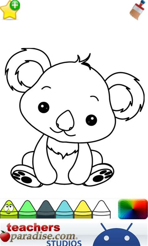 baby animals coloring book android apps on play
