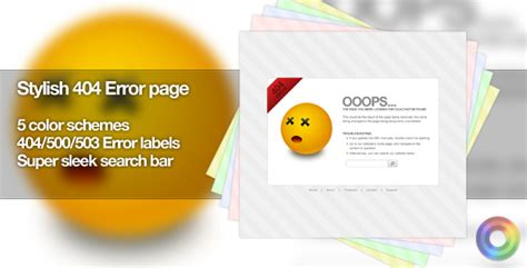 templates for error pages 35 fresh and creative error 404 pages designmaz