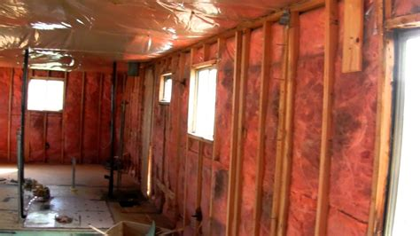 Mobile Home Interior Decorating Ideas by Fix Up Old Trailer Youtube