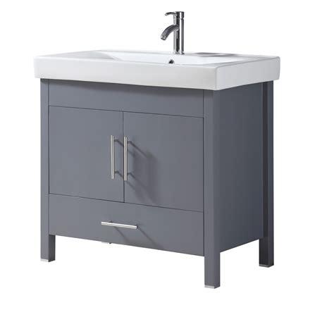 charcoal grey bathroom vanity melange 36 inch charcoal grey vanity ak trading home options