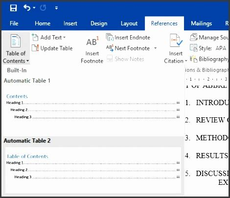 10 best table of contents templates for microsoft word 7 table of contents template sletemplatess sletemplatess