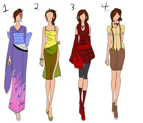 fashion design contest online chachi s fashion design contest batch 5 by bubble goom on