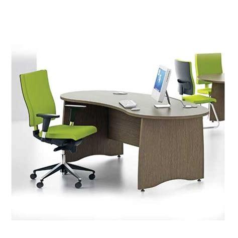 Kidney Shaped Office Desk Gresham Ex10 Ex10 Kidney Shaped Desk