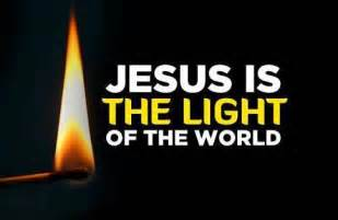 jesus is the light of the world light show