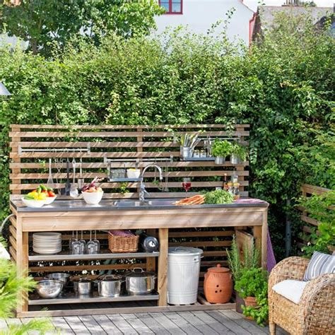 1000 ideas about simple outdoor kitchen on