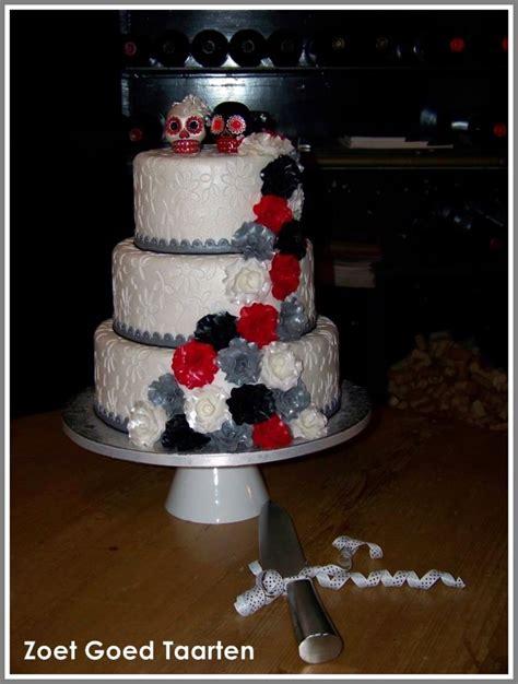 Hochzeitstorte Totenkopf by Skull Wedding Cake Cakecentral