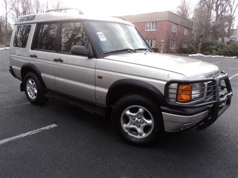 how cars run 1999 land rover discovery series ii parental controls find used 1999 land rover discovery series ii 3rd row seat runs great in paterson new jersey