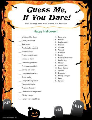 printable halloween decorations office fun halloween printable games halloween party ideas