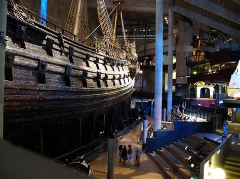 gustav vasa ship even in a museum elements eat at the warship vasa the