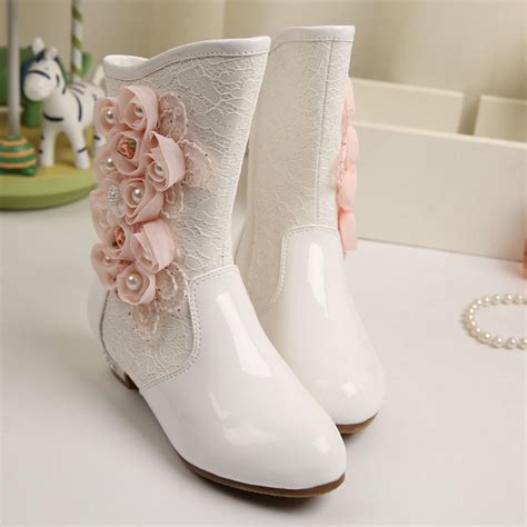 floral snow boots wendywu winter new floral princess boots snow flower