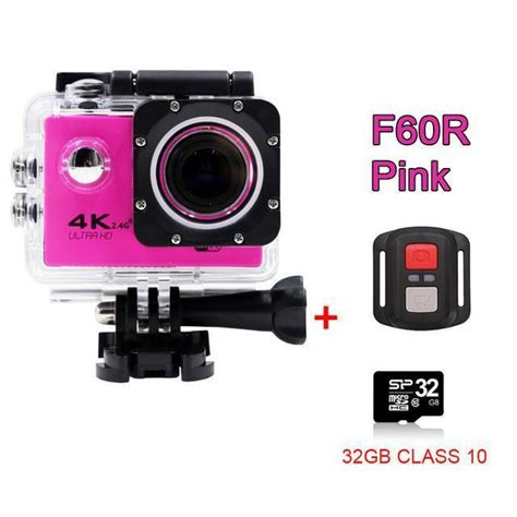 Gopro Hero4 Pink gopro style 4k ultra hd mini waterproof wifi for a ancient explorers