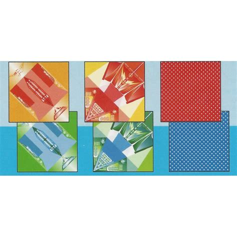Origami Paper Wholesale - 150 mm 12 sh waterproof boat and yacht origami paper bulk