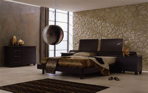 moderne schlafzimmer le couleur de chambre moderne le marron apporte le confort