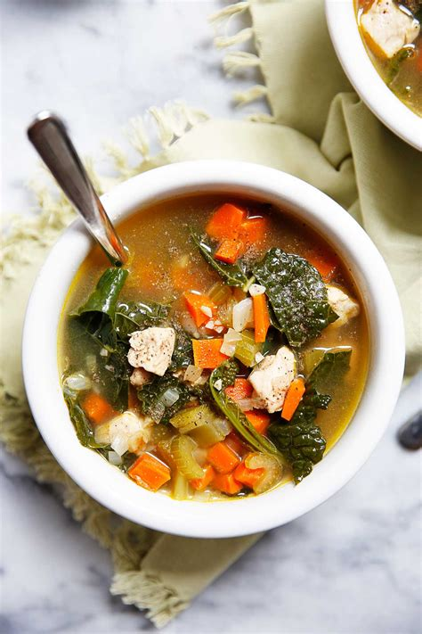 Detox Chicken Soup Recipe by Chicken And Kale Detox Soup Recipe