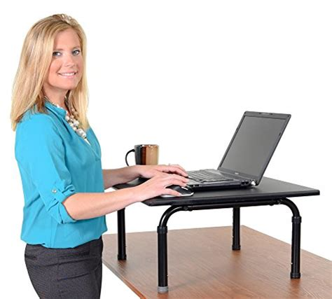 Convert Cubicle To Standing Desk by Adjustable Height Standing Desk Convert Your Desk To A