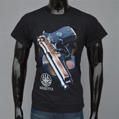 Beretta Gun T Shirt New s 3xl cotton gun t shirts for summer 2015 camisa